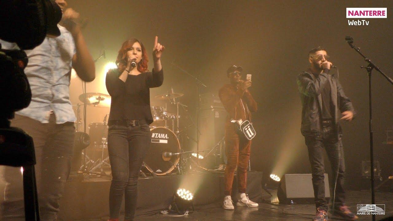 Nine Dos en concert à Nanterre