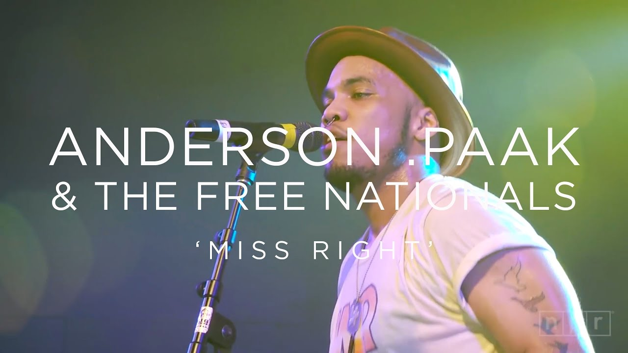 Anderson .Paak & The Free Nationals: 'Miss Right' SXSW 2016 | NPR MUSIC FRONT ROW