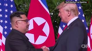 Breaking News June 22, 2018 - Trump, Kim get 'Bad Lip Reading' treatment