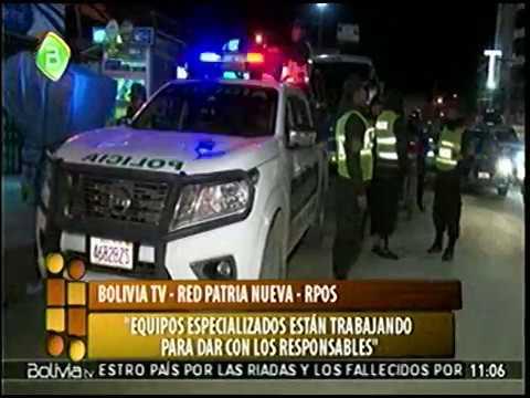 Ministro Carlos Romero: el Carrito de Chicharrones tenia Dinamita instalada Explosion Oruro