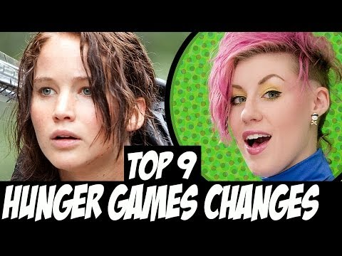 TOP 9 Hunger Games Changes - Book to Movie