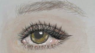 eye drawing simple basic