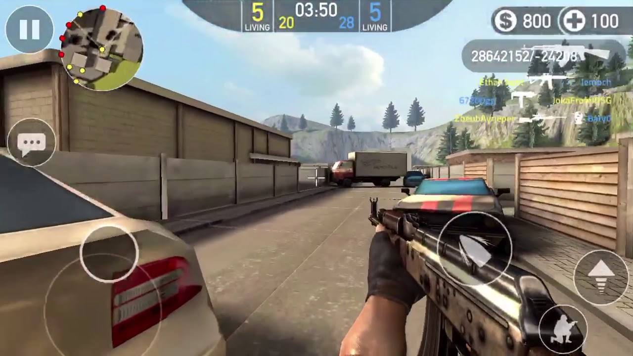 Forward Assault iOS/Android Mod Menu [Unlimited Ammo, No Recoil, See  Enemies On Minimap + More!]