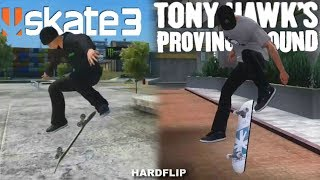 Skate 3 VS Tony Hawk