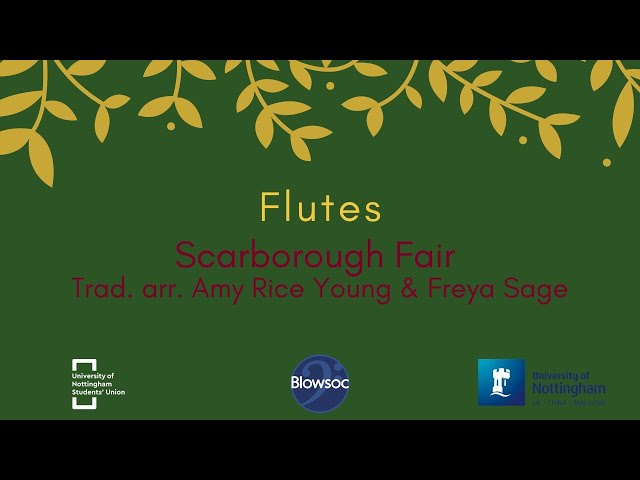 🐣 Flutes, Scarborough Fair