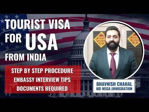 Tourist Visa For USA From India | US Visitor Visa From India