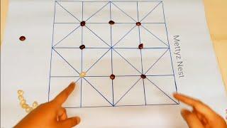 வீடியோ கேம் மாதிரி காயின் அட்டாக் பண்ணிக்கலாம் | Indoor Board Game list |Ganh Game|interesting game