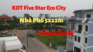 Nhà KĐT Five Star Eco City ( Khu dân cư Năm Sao - Five Star ) - 5x22 - 1 Trệt 3 lầu - Sổ Hồng Riêng