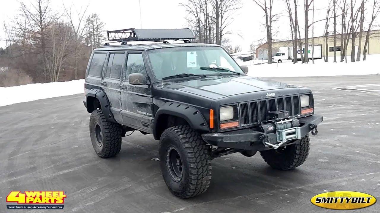 Jeep Cherokee XJ Parts Columbiana, OH 4 Wheel Parts - YouTube