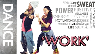 "Zumba ® fitness class with Lauren- ""Work""- choreography by Tara Romano"