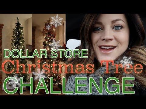 Dollar Store Tree Decorating Challenge! 🎄 // Garden Answer