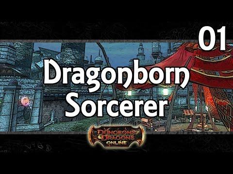 DDO – Dragonborn Sorcerer (Levels 1 to 4)