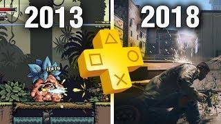 Все раздачи PS Plus, игры за 5 лет (2013-2018г) Чем же нас баловало Sony?