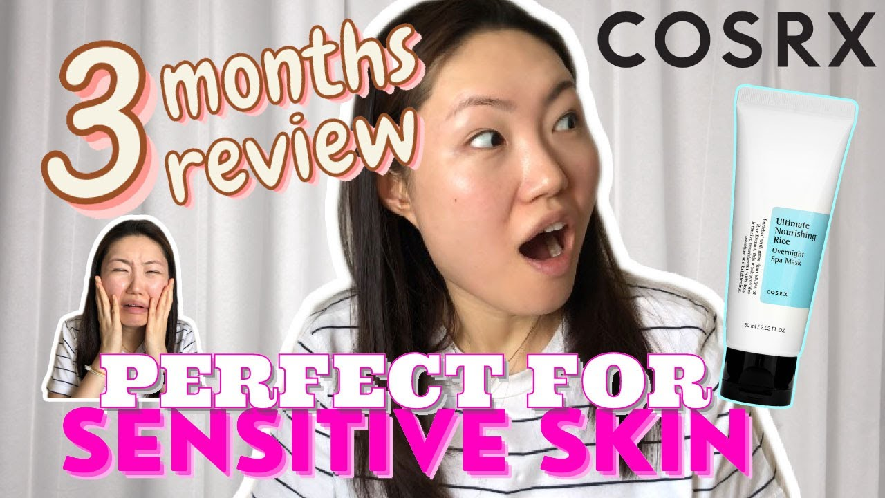 Cosrx Ultimate Nourishing Rice Overnight Spa Mask Honest Review 20    Perfect for Sensitive Skin
