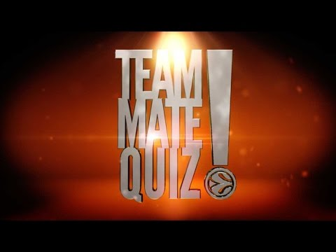 Teammate Quiz: Who's the best cook?