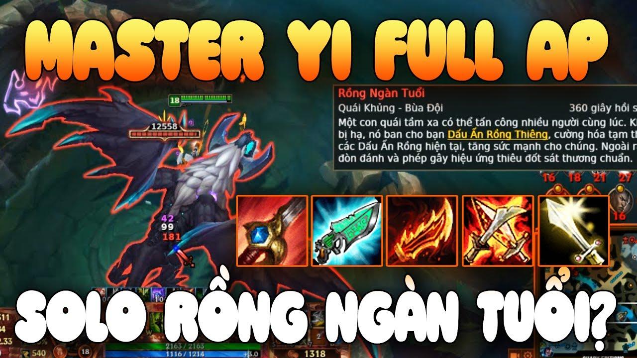 [ Bình Luận LMHT ] Master Yi FULL AP | Thiền 1 Lần Đầy Cây Máu + Solo Rồng Ngàn Tuổi Quá Bá Đạo
