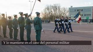La Guardia Civil retira el bastón de mando al director general