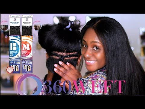 Flexible Versatile Styling Hair with 360 Weft | Shlinda1