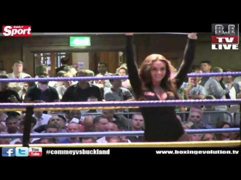 Boxing Evolution TV Featured Ring Girl Ali Drew