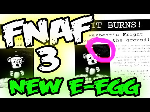 FNAF 3 NIGHT 6 ENDING EASTER EGG   SPRING TRAP on NEWSPAPER   Five Nights at Freddy's 3 Ending