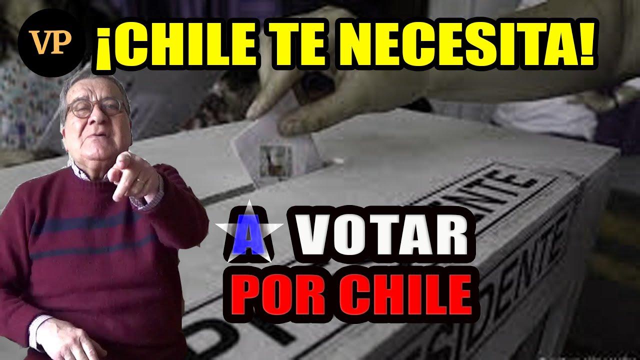 A VOTAR POR CHILE
