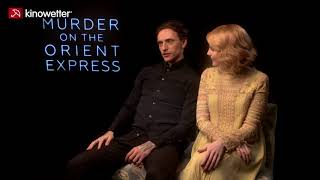 Interview Sergei Polunin & Lucy Boynton MURDER ON THE ORIENT EXPRESS