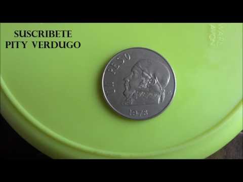 Moneda Mexicana un peso de 1978 Jose Maria Morelos y Pavon