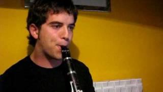 """eddie daniels """"old folks"""", clarinet solo"""