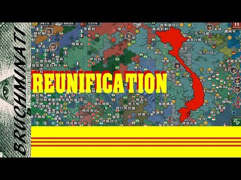 World Conqueror 3 2005(HOI) Mod   South Vietnam 1960, Reunification (FULL)