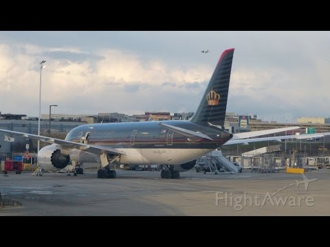 Royal Jordanian B787 8 Chicago (ORD) - Amman (AMM) Flight Experience
