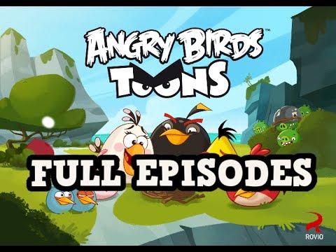 Angry Birds Toons FULL EPISODES 2hours 26minutes