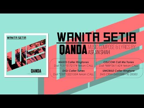 Qanda - Wanita Setia [Official Lyrics Video][OST IRIS TV3 Love You Mr Arang]