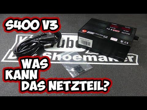 DerShoemaker - Chargery S400 V3 Netzteil - Reichen 13.5 Ampere?
