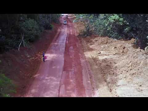 Alphamin Bisie Mine Access Road Construction (November 2017)