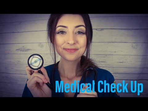 [ASMR] MEDICAL CHECKUP ROLEPLAY - FULL BODY PHYSICAL