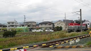 2020/4/21    JR東日本  キヤ195系  甲種輸送②  谷川踏切通過