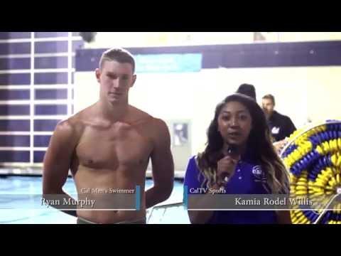 CalTV Sports: Cal Swimming with Ryan Murphy and Celina Li VS Utah