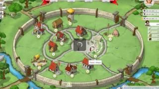 Travian Kingdoms - выход из нубки, создание армии (Day 2, create army)