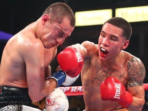 Oscar Valdez vs. Scott Quigg | Highlights