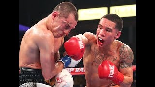 Oscar Valdez vs. Scott Quigg | Highlights