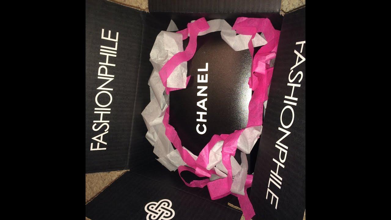 dd855610227c Fashionphile Chanel Unboxing: Rectangular Mini Flap - YouTube