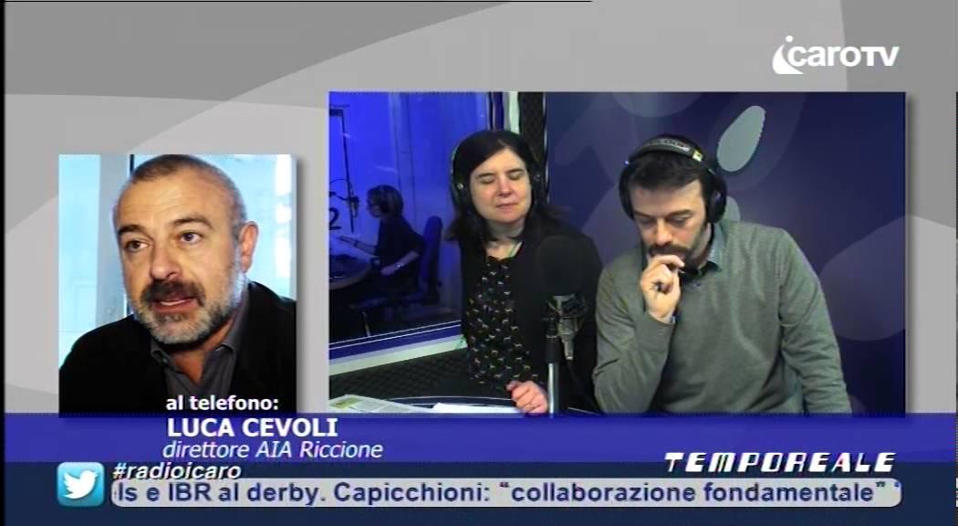 Icaro Tv. Tassa di Soggiorno, intervista a Luca Cevoli (Aia Riccione ...