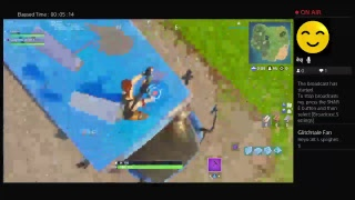 Fortnite default skin and back bling glitch