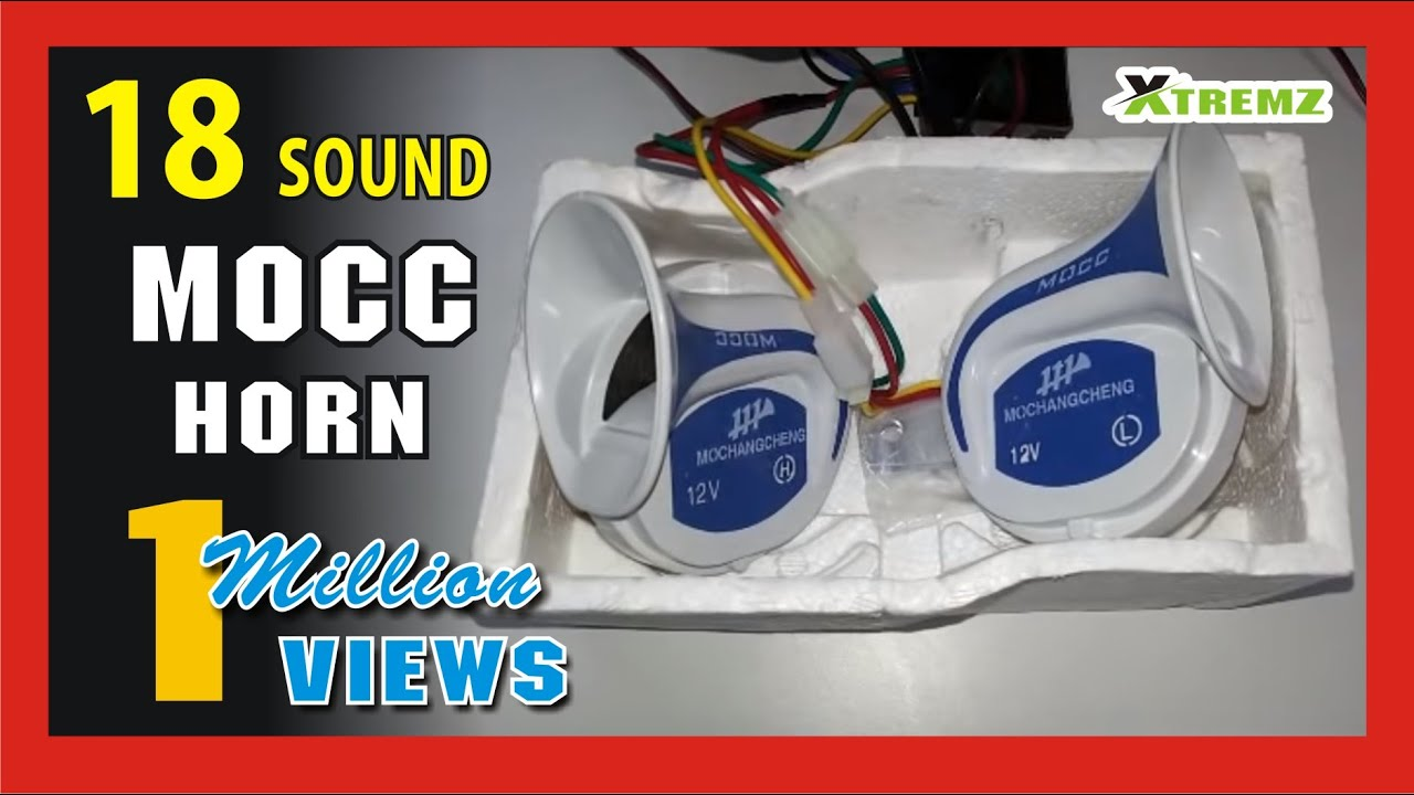 Mocc horn with 18 sound tunes relay youtube mocc horn with 18 sound tunes relay swarovskicordoba Image collections