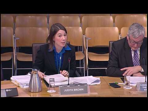 Rural Economy and Connectivity Committee - Scottish Parliament: 23rd November 2016