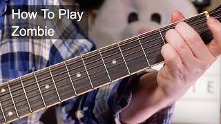 'Zombie' The Cranberries Acoustic Guitar Lesson