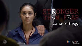#StrongerThanFear FT. Pavleen Gujral | an iimjobs.com initiative