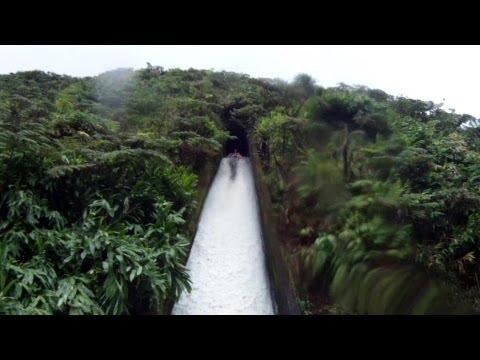Hiking White Road Waterslide (waimea hawaii)