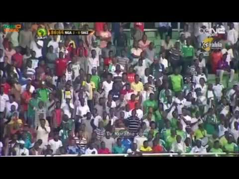 Best moments: Nigeria defeats Swaziland 2-0 in a November 17 WC qualifier