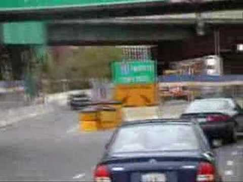 Boston Traffic-Storrow Drive-Old Fitgerald Expressway
